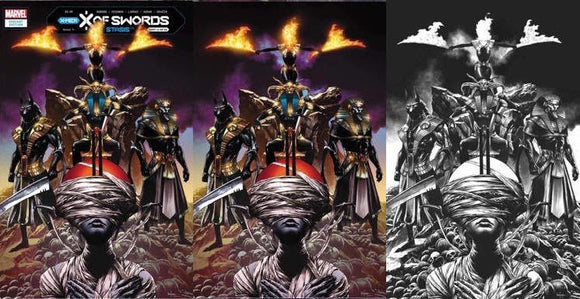 X OF SWORDS STASIS #1 MICO SAUYAN UNKNOWN ILUMINATTI EXCLUSIVE BUNDLE (10/28/2020) 3-PACK
