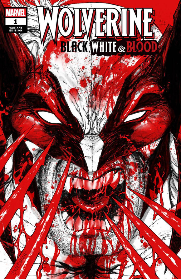 WOLVERINE BLACK WHITE BLOOD #1 (OF 4) TYLER KIRKHAM EXCLUSIVE (11/4/2020) BACKISSUE MISPRINT EDITION