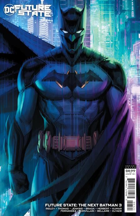 FUTURE STATE THE NEXT BATMAN #3 (OF 4) CVR B STANLEY ARTGERM LAU CARD STOCK VAR (2/2/2021)