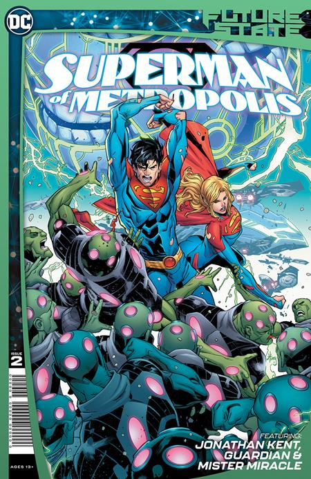 FUTURE STATE SUPERMAN OF METROPOLIS #2 (OF 2) CVR A JOHN TIMMS (2/2/2021)