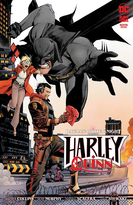 BATMAN WHITE KNIGHT PRESENTS HARLEY QUINN #5 (OF 6) CVR A SEAN MURPHY (MR) (2/23/21)