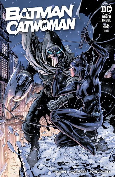 BATMAN CATWOMAN #3 (OF 12) CVR B JIM LEE & SCOTT WILLIAMS VAR (2/16/21) BACKISSUE
