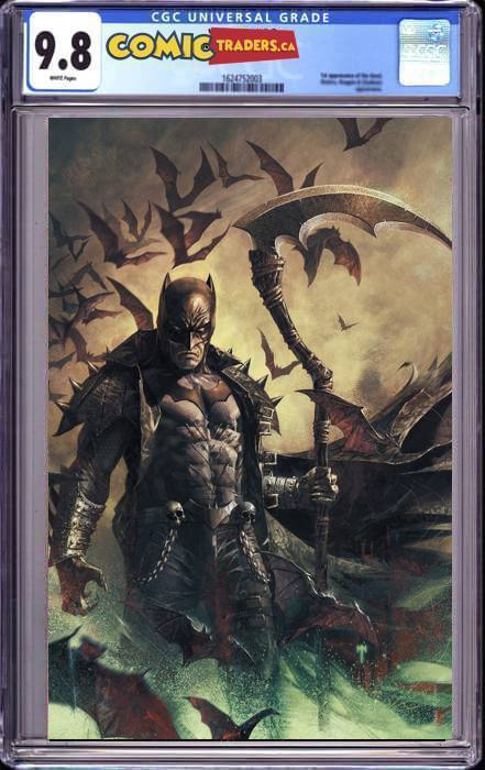 DARK NIGHTS DEATH METAL #7 (OF 7) MARCO MASTRAZZO VIRGIN ILLUMINATI EXCLUSIVE (4/5/2021) CGC 9.8