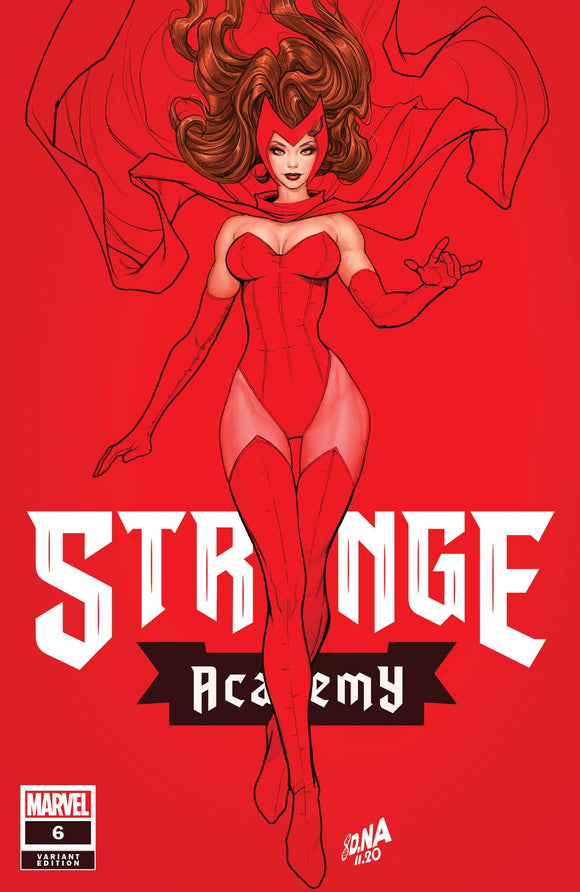 STRANGE ACADEMY #6 DAVID NAKAYAMA ILLUMINATI EXCLUSIVE (12/09/2020) INSTOCK BACKISSUE