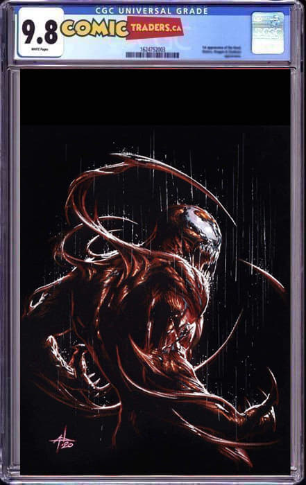 VENOM #31 DELLOTTO ILLUMINATI VIRGIN EXCLUSIVE KIB 3/09/21 CGC 9.8 INSTOCK