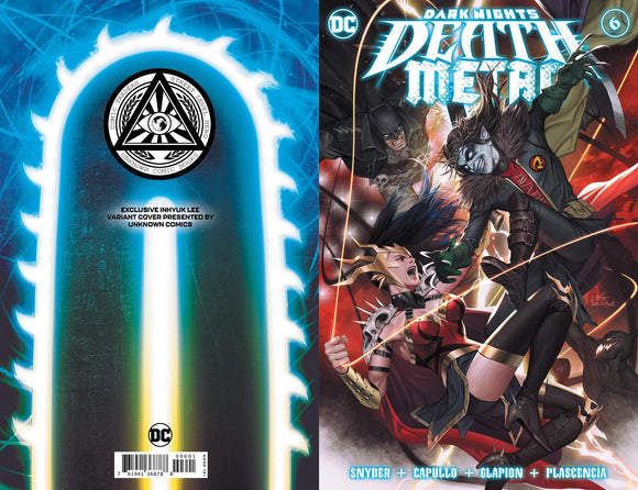 DARK NIGHTS DEATH METAL #6 (OF 7) DARK NIGHTS DEATH METAL #6 (OF 7) INHYUK LEE ILLUMINATI EXCLUSIVE (12/15/20) SHIPS (1/03/21)