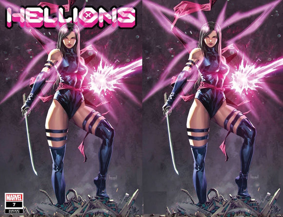 HELLIONS #7 XOS KAEL NGU UNKNOWN ILLUMINATI EXCLUSIVE BUNDLE (12/02/20) SHIPS (12/16/20) 2-PACK