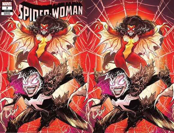 SPIDER-WOMAN #7 LUKAS WERNECK UNKNOWN ILLUMINATI EXCLUSIVE KIB  (12/23/20) SHIPS (1/10/21) 2-PACK BACKISSUE