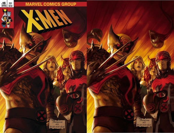 X-MEN #16 MIGUEL MERCADO UNKNOWN ILLUMINATI EXCLUSIVE XOS (12/30/20) SHIPS (1/14/21) 2-PACK BACKISSUE