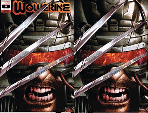 WOLVERINE #8 MICO SAUYAN UNKNOWN ILLUMINATI EXCLUSIVE BUNDLE XOS (12/30/20) SHIPS (1/14/21) 2-PACK BACKISSUE