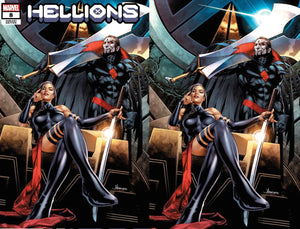 HELLIONS #8 JAY ANACLETO UNKNOWN ILLUMINATI EXCLUSIVE (1/6/2021) SHIPS (1/20/2021) 2-PACK