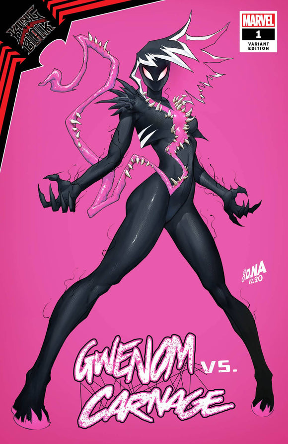 KING IN BLACK GWENOM VS CARNAGE #1 (OF 3) DAVID NAKAYAMA EXCLUSIVE (1/13/2021) SHIPS (1/30/21)