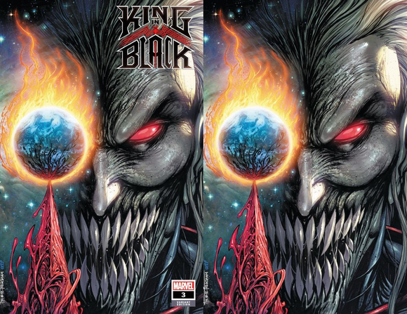 KING IN BLACK #3 (OF 5) TYLER KIRKHAM ILLUMINATI EXCLUSIVE (1/20/2021) SHIPS (2/7/21) 2-PACK