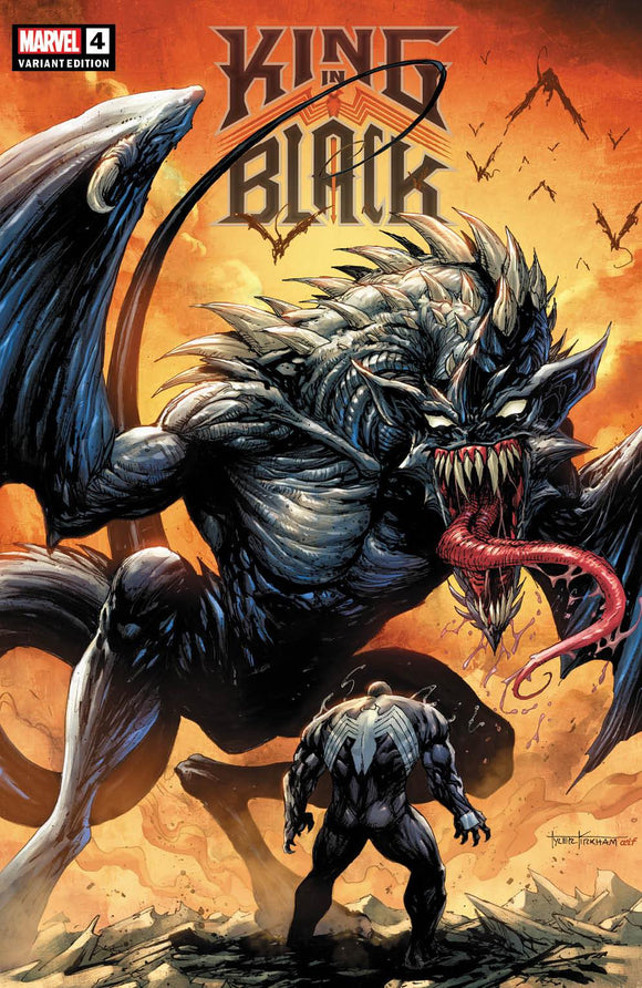 KING IN BLACK #4 (OF 5) TYLER KIRKHAM ILLUMINATI EXCLUSIVE (2/17/21) SHIPS DATE (3/6/2021)