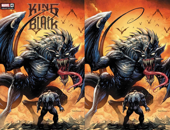 KING IN BLACK #4 (OF 5) TYLER KIRKHAM ILLUMINATI EXCLUSIVE BUNDLE(2/17/21) SHIPS DATE (3/6/2021) 2-PACK