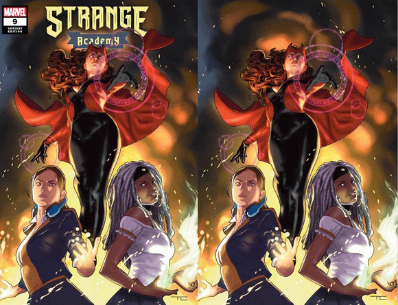 STRANGE ACADEMY #9 TAURIN CLARKE EXCLUSIVE BUNDLE (3/10/2021) SHIPS (3/24/2021) 2-PACK
