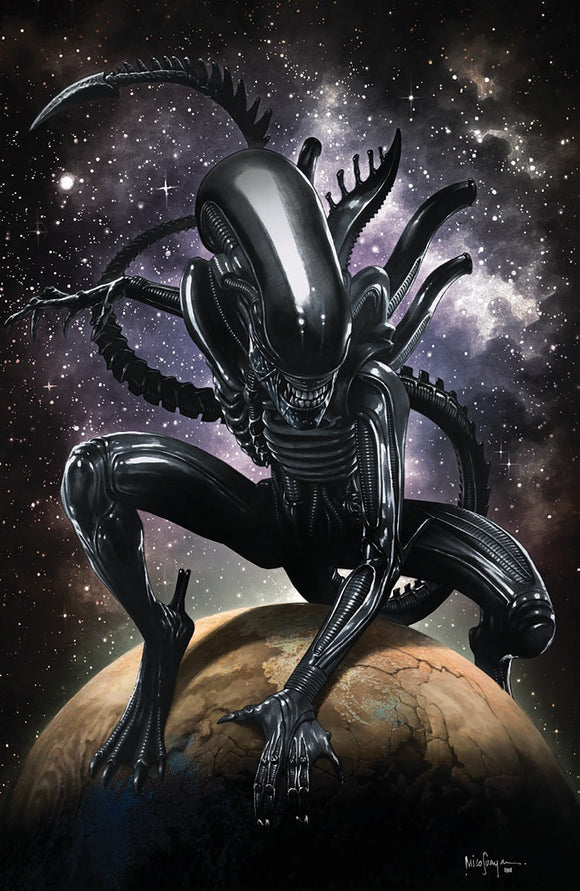 ALIEN #1 MICO SAUYAN VIRGIN ILLUMINATI EXCLUSIVE (03/24/2021) SHIPS (04/010/21)