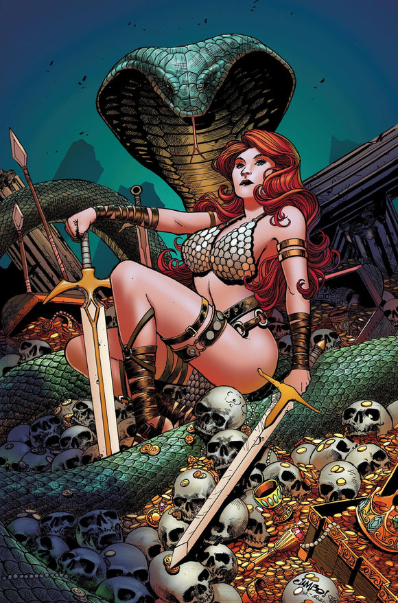 RED SONJA #25 JIMBO SALGADO UNKNOWN EXCLUSIVE (03/24/2021) SHIP DATE (04/14/2021)