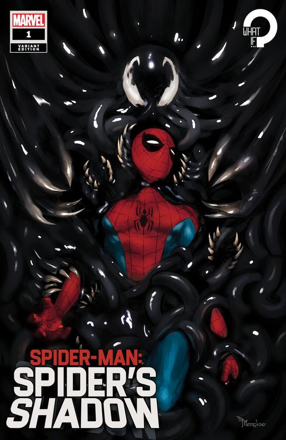 SPIDER-MAN SPIDERS SHADOW #1 (OF 4) MIGUEL MERCADO ILLUMINATI EXCLUSIVE (4/14/2021) SHIP DATE (4/31/21)
