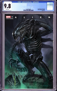 ALIEN #3 LUCIO PARRILLO TRADE ILLUMINATI EXCLUSIVE CGC 9.8 (5/26/2021) SHIPS (6/16/21)