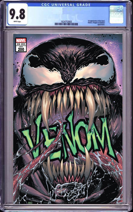 VENOM #35 TYLER KIRKHAM ILLUMINATI EXCLUSIVE 200TH ISSUE (06/09/2021) SHIPS (06/26/21) CGC 9.8