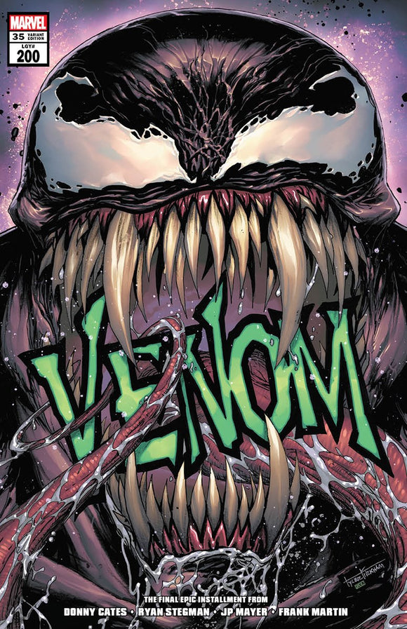 VENOM #35 TYLER KIRKHAM ILLUMINIATI EXCLUSIVE 200TH ISSUE (06/09/2021) SHIPS (06/26/21)