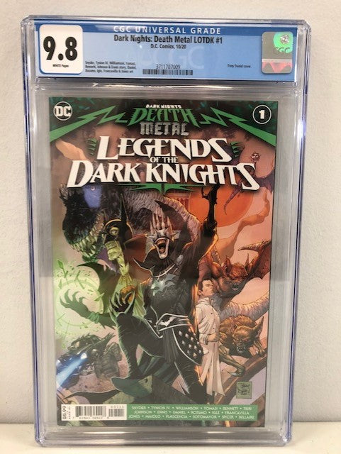 DARK NIGHTS DEATH METAL LEGENDS OT DARK KNIGHTS #1 CVR A CGC 9.8