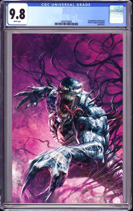 VENOM #35 MARCO MASTRAZZO VIRGIN ILLUMINIATI EXCLUSIVE 200TH ISSUE (10/09/2021) CGC 9.8