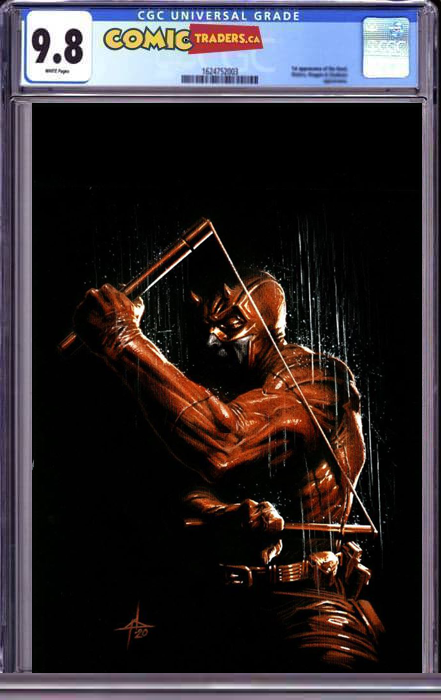 DAREDEVIL #25 3RD Print DELLOTTO VIRGIN ILLUMINATTI EXCLUSIVE (5/24/2021) CGC 9.8