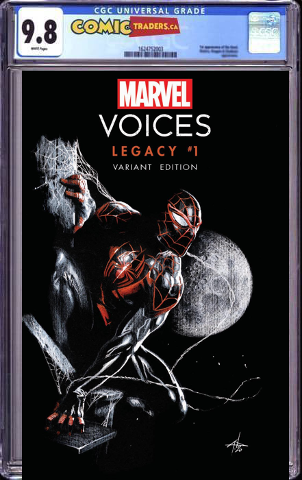 MARVELS VOICES LEGACY #1 DELLOTTO ILLUMINATI EXCLUSIVE CGC 9.8 SHIPS (06/10/21)
