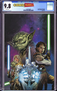 STAR WARS HIGH REPUBLIC #2 UNKNOWN ILLUMINATI VIRGIN CARLO PAGULAYAN EXCLUSIVE SHIP DATE (5/20/2021) CGC 9.8