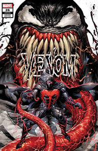 VENOM #26 CLASSIFIED TYLER KIRKHAM UNKNOWN COMICS EXCLUSIVE VAR WHITE TD (07/15/2020) BACKISSUE
