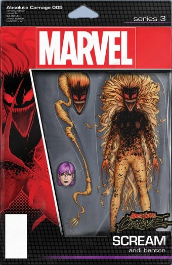 ABSOLUTE CARNAGE #5 (OF 5) CHRISTOPHER ACTION FIGURE VAR AC BACKISSUE