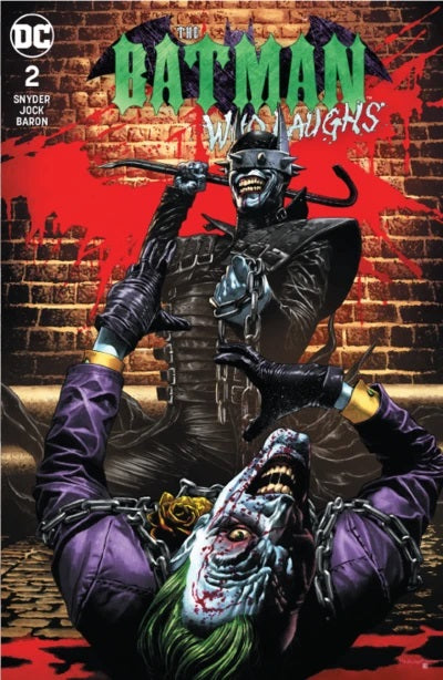BATMAN WHO LAUGHS #2 (OF 6) UNKNOWN COMIC BOOKS SUAYAN EXCLUSIVE  BACKISSUE