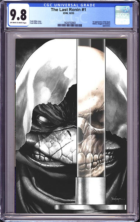 TMNT THE LAST RONIN #1 (OF 5)CGC 9.8  C MICO SUAYAN VIRGIN SKETCH EXCLUSIVE 12/28/20