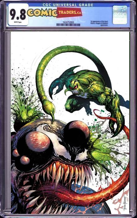 VENOM #30 TYLER KIRKHAM VIRGIN CLASSIFIED UNKNOWN ILLUMINATI EXCLUSIVE 2/18/2021 CGC 9.8