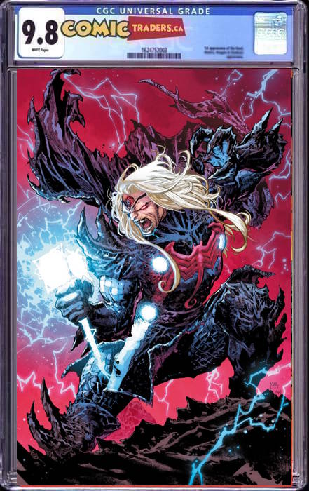 THOR #10 LASHLEY KNULLIFIED VIRGIN EXCLUSIVE VAR (3/02/2021) CGC9.8 INSTOCK