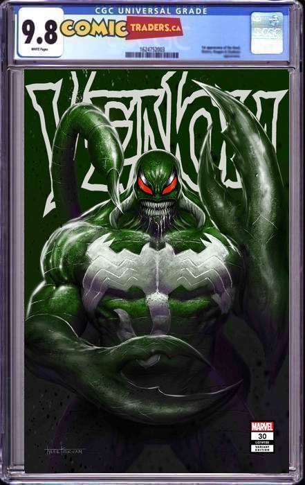 VENOM #30 TYLER KIRKHAM UNKNOWN ILLUMINATI EXCLUSIVE 2/18/2021 CGC 9.8