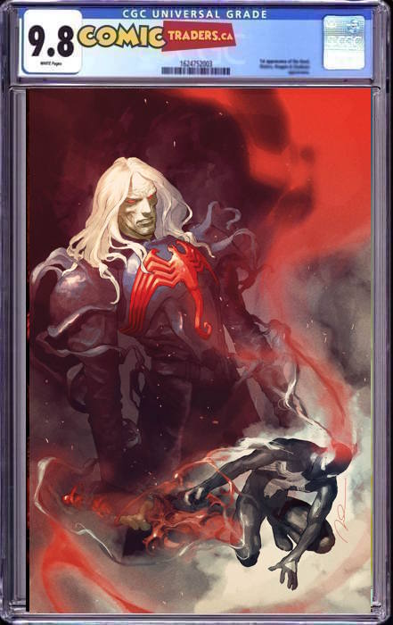 SYMBIOTE SPIDER-MAN KING IN BLACK #1 GERALD PAREL VIRGIN EXCLUSIVE 2/18/2020 CGC 9.8