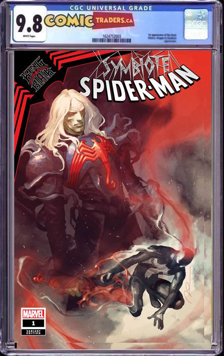 SYMBIOTE SPIDER-MAN KING IN BLACK #1 GERALD PAREL EXCLUSIVE 2/18/2020 CGC 9.8