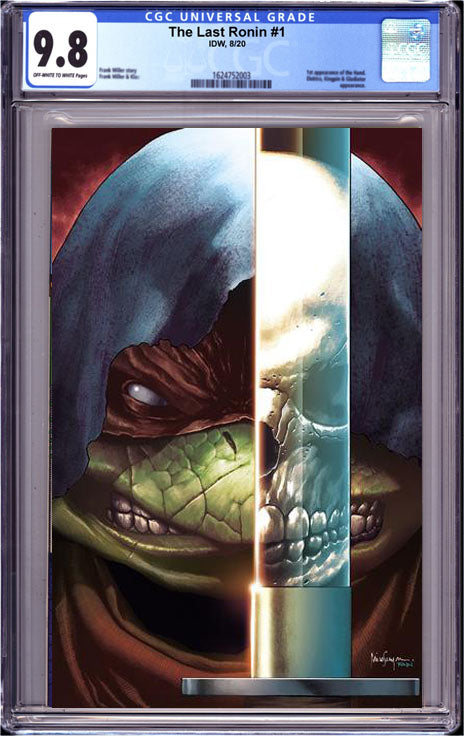 TMNT THE LAST RONIN #1 (OF 5) CGC 9.8 A MICO SUAYAN VIRGIN EXCLUSIVE 12/28/20