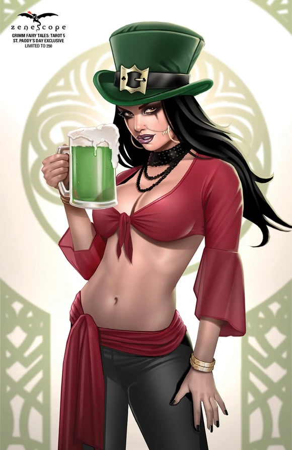 GRIMM FAIRY TALES TAROT 5 ST. PADDY'S DAY EXCLUSIVE LE 250 BACKISSUE