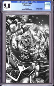 JUGGERNAUT #1 (OF 5) UNKNOWN COMICS MICO SUAYAN SKETCH VIRGIN EXCLUSIVE VAR DX (11/23/2020) CGC 9.8