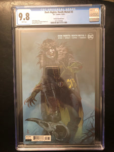 DARK NIGHTS: DEATH METAL #3 FEDERICI VARIANT COVER CGC 9.8 INSTOCK