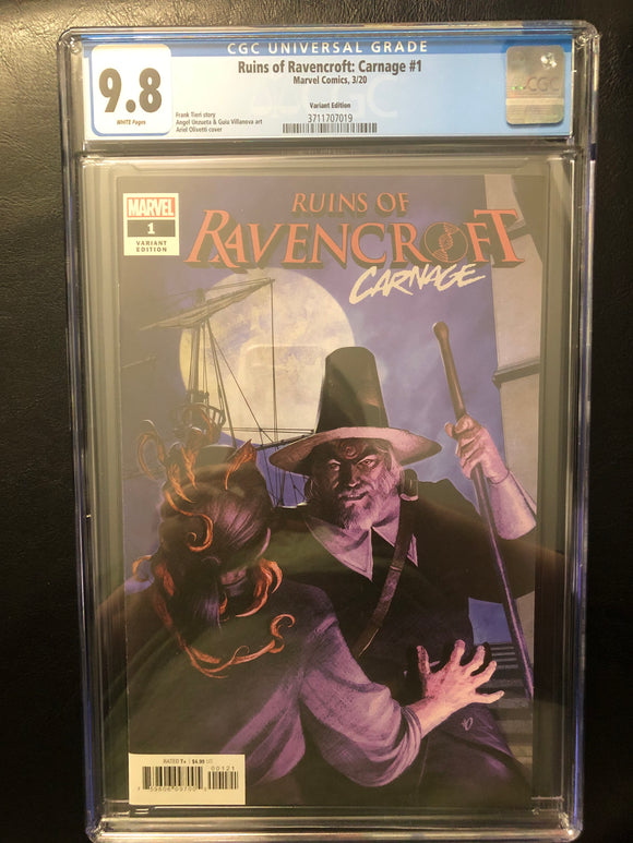 RUINS OF RAVENCROFT: CARNAGE #1 VARIANT EDITION CGC 9.8 INSTOCK