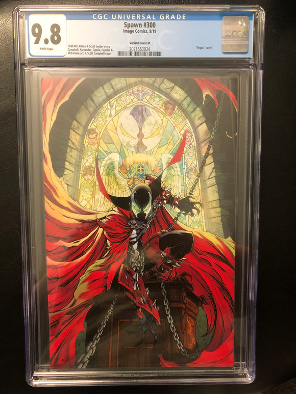 SPAWN #300 VARIANT COVER M CGC 9.8 INSTOCK