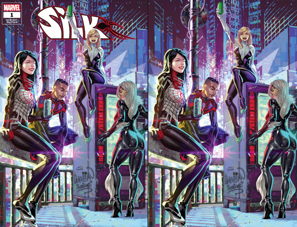 SILK #1 (OF 5) KAEL NGU ILLUMINAT EXCLUSIVE BUNDLE (03/31/2021) SHIPS (04/16/21) 2-PACK BACKISSUE