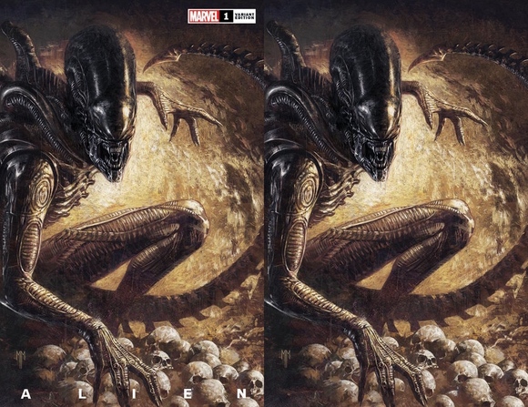 ALIEN #1 MARCO MASTRAZZO ILLUMINATI EXCLUSIVE BUNDLE (03/24/2021) SHIPS (04/010/21) 2-PACK