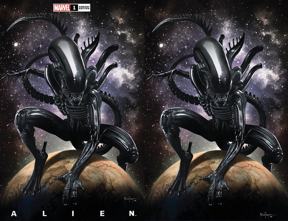 ALIEN #1 MICO SAUYAN ILLUMINATI EXCLUSIVE BUNDLE (03/24/2021) SHIPS (04/010/21) 2-PACK
