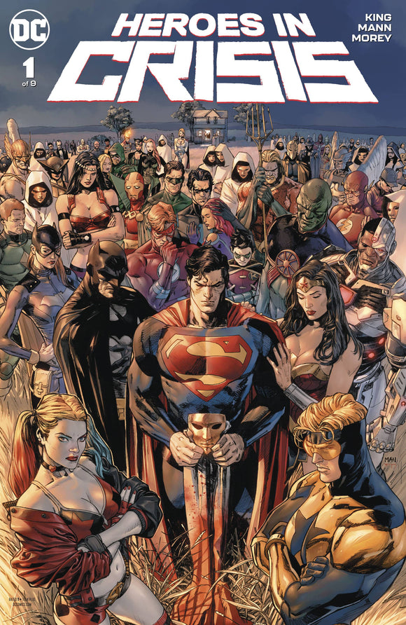 HEROES IN CRISIS #1 (OF 9) BACKISSUE